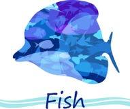 Tropische Fische des Vektors Lizenzfreie Stockfotografie