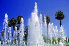 Tropische fontein Royalty-vrije Stock Foto's