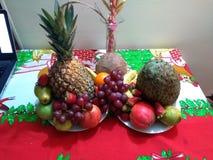 Tropische Früchte stockfoto
