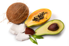 Tropische Früchte lizenzfreies stockbild