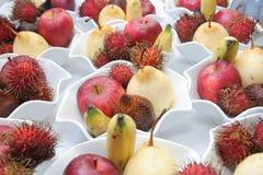 Tropische Früchte stockfotos