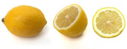 Tropische Früchte: Zitrone Lizenzfreie Stockfotos