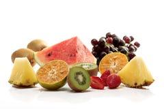 Tropische Frucht der Mischung stockbild