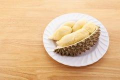 Tropische Frucht Shell (Hülse) der taxierten Durianfrucht Lizenzfreie Stockbilder