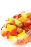 Tropische Fruitsalade royalty-vrije stock afbeeldingen