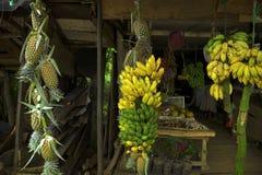 Tropische fruitwinkel Stock Afbeelding