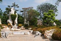 Tropische gardeni n Thailand Royalty-vrije Stock Foto
