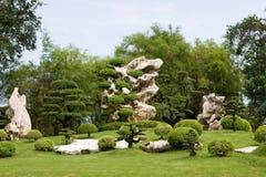 Tropische gardeni n Thailand Royalty-vrije Stock Foto's