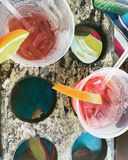 Tropische Getränke Stockfoto