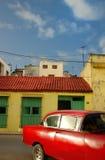 Tropische Havana auto royalty-vrije stock afbeelding