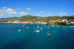 Tropische Haven royalty-vrije stock fotografie