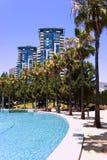 Tropische Hochhäuser lizenzfreie stockfotografie