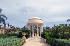 Tropische Hochzeit ändern Lizenzfreie Stockfotografie