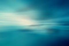 Tropische horizon abstracte achtergrond Royalty-vrije Stock Afbeelding