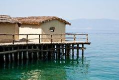 Tropische hutten Royalty-vrije Stock Afbeelding
