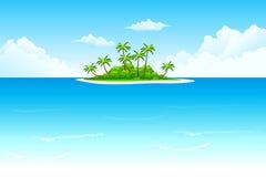 Tropische Insel Stockfoto