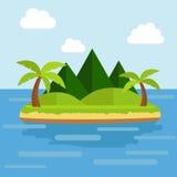 Tropische Insel Lizenzfreies Stockbild