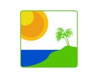 Tropische Insel Lizenzfreies Stockfoto