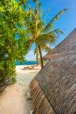 Tropische Insel des Paradieses Lizenzfreies Stockfoto