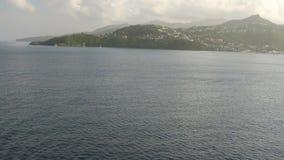 Tropische Insel St- George` s, Grenada stock video