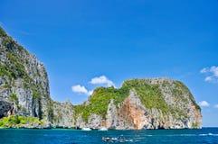 Tropische Inseln, pru-ket Archipel, Thailand Lizenzfreies Stockbild