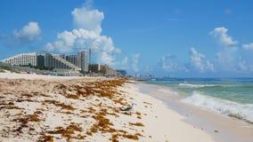 Tropische karibische StrandZeitspanne stock footage