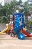 Tropische Kinder Playgound Stockbild