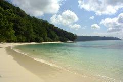 Tropische Lagune Royalty-vrije Stock Afbeeldingen