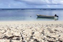 Tropische Lagune Stockfoto