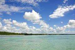Tropische lagune stock afbeelding
