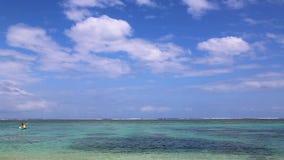 Tropische Lagune stock footage