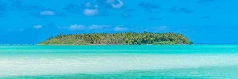 Tropische Lagune, im Französisch-Polynesien lizenzfreie stockfotos