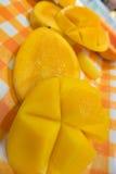 Tropische Mangofrucht Lizenzfreies Stockbild