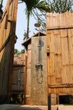 Tropische Openluchtregendouche Stock Afbeelding