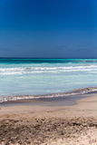 Tropische overzees in de de zomertijd Royalty-vrije Stock Foto