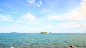 Tropische Overzees op Chumphon, Thailand stock footage