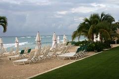 Tropische Ozeanansicht Lizenzfreies Stockfoto