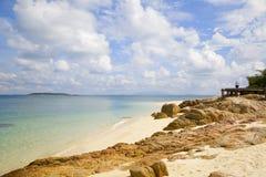 Tropische paradijsoverzees Royalty-vrije Stock Afbeelding