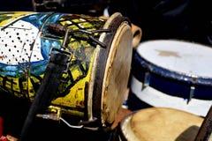 Tropische percussie stock fotografie