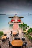 Tropische Pijler Stock Fotografie