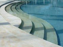 Tropische pool. Royalty-vrije Stock Foto's