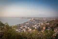 Tropische Rücksortierung Puerto Vallarta Bester Strand in Mexiko Der Ozean-Ansicht Stockfotografie