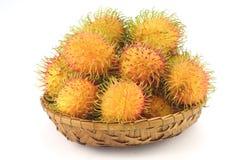Tropische Rambutan-Vruchten Royalty-vrije Stock Fotografie