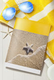 Tropische Reise-Ferien-Broschüre Lizenzfreie Stockfotografie