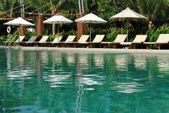 Tropische Schwimmen Stockfoto