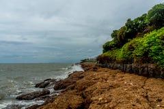 Tropische Seeansicht Lizenzfreie Stockfotos