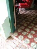 Tropische sjofele elegante huismening Stock Fotografie