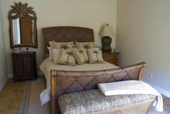 Tropische slaapkamer 2 stock foto's