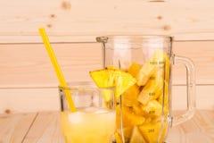 Tropische smoothie Stock Foto