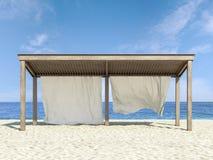 Tropische strand en overzees Royalty-vrije Stock Fotografie